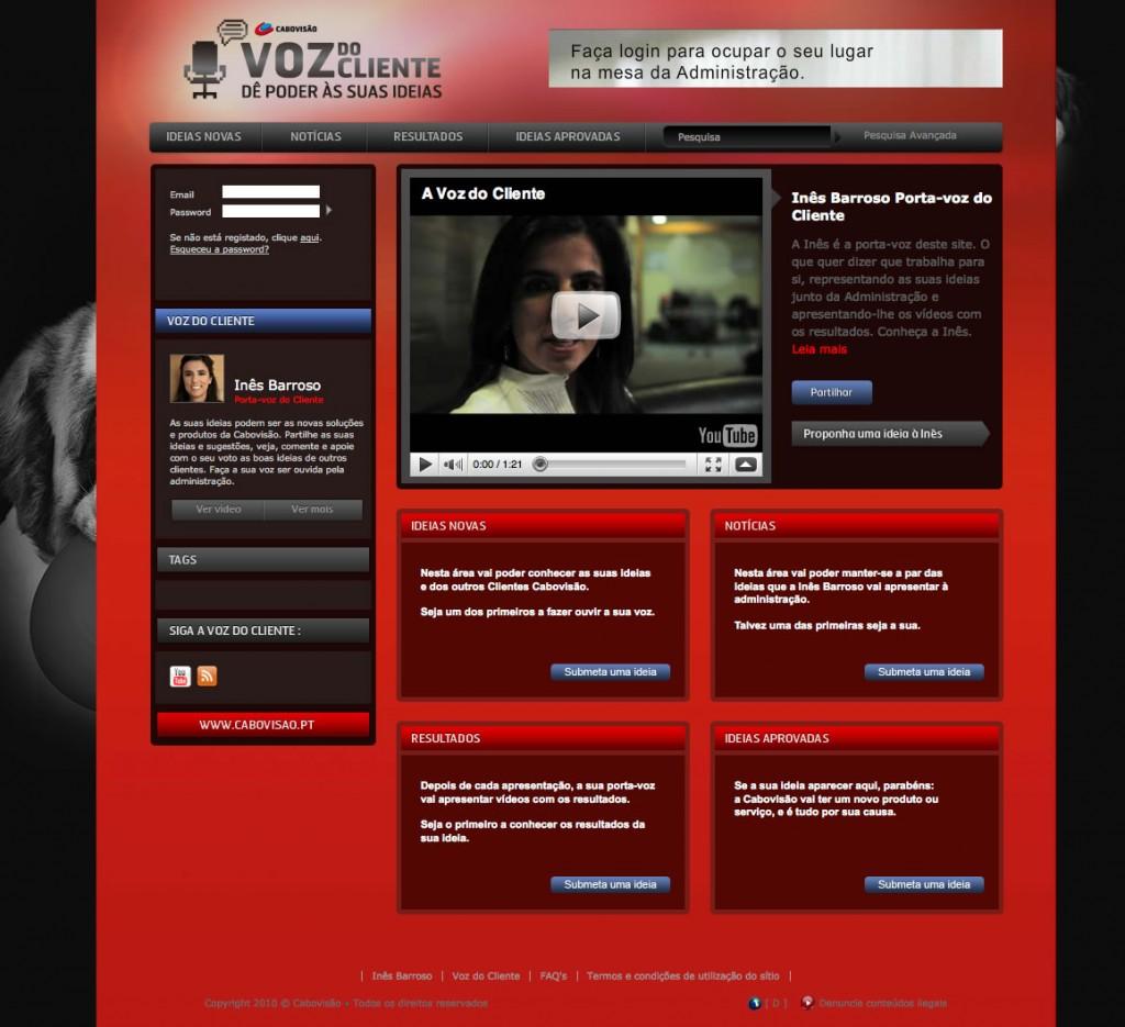 Cabovisao_Voz do Cliente_ home