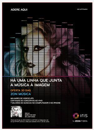 Campanha ZON Música_ Lady Gaga