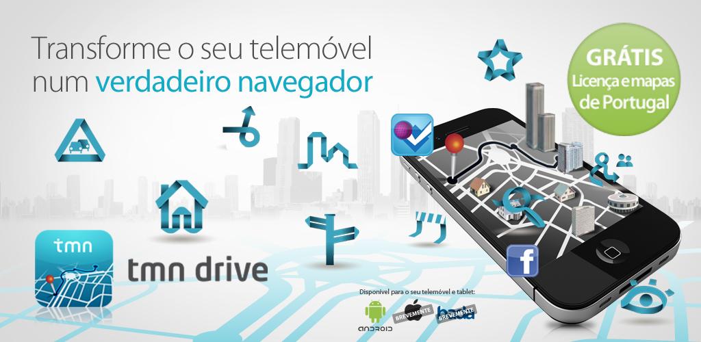 Mapas De Portugal Com A Tmn E Ndrive Meios Publicidade Meios