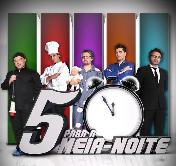 logo_5 para a meia noite_apresentadores