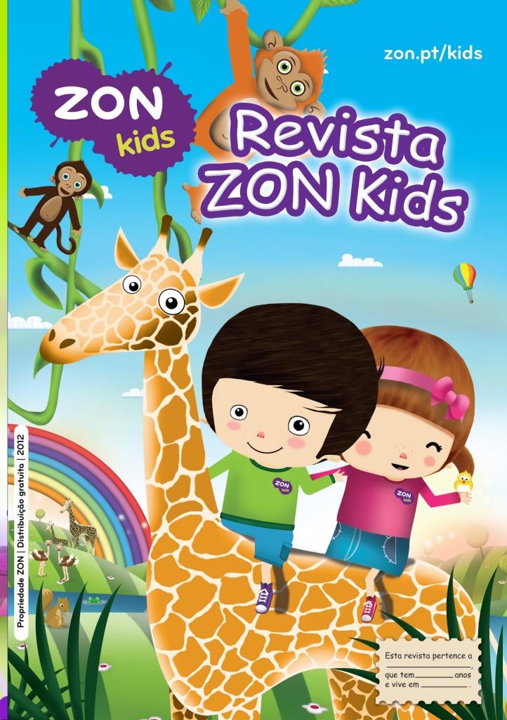 Capa Revista ZON Kids