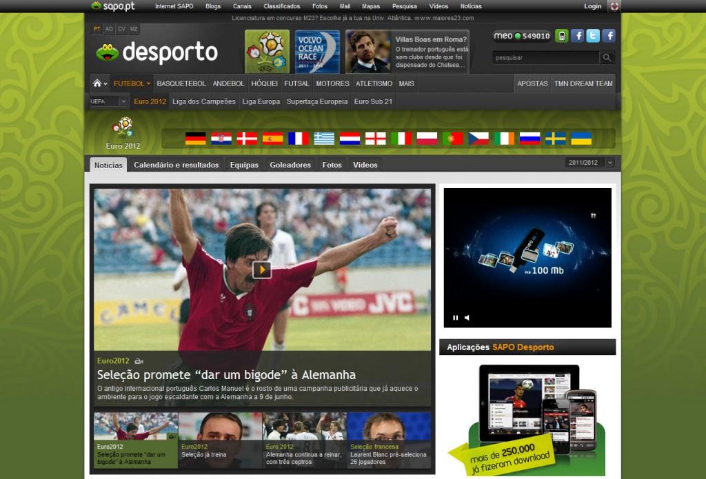 Euro 2012_SAPO Desporto
