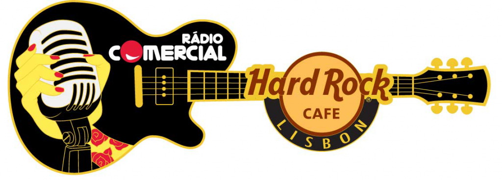 PIN Hard Rock e Rádio Comercial