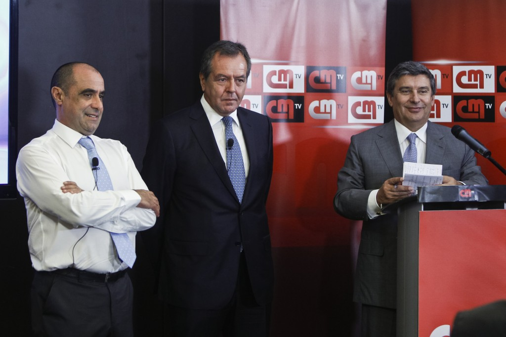 Octávio Ribeiro, Luís Santana e Paulo Fernandes (Cofina)