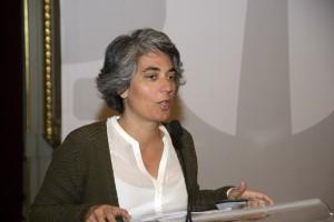Graça Fonseca, vereadora da Economia, Inovação, Educação e Descentralização da Câmara de Lisboa