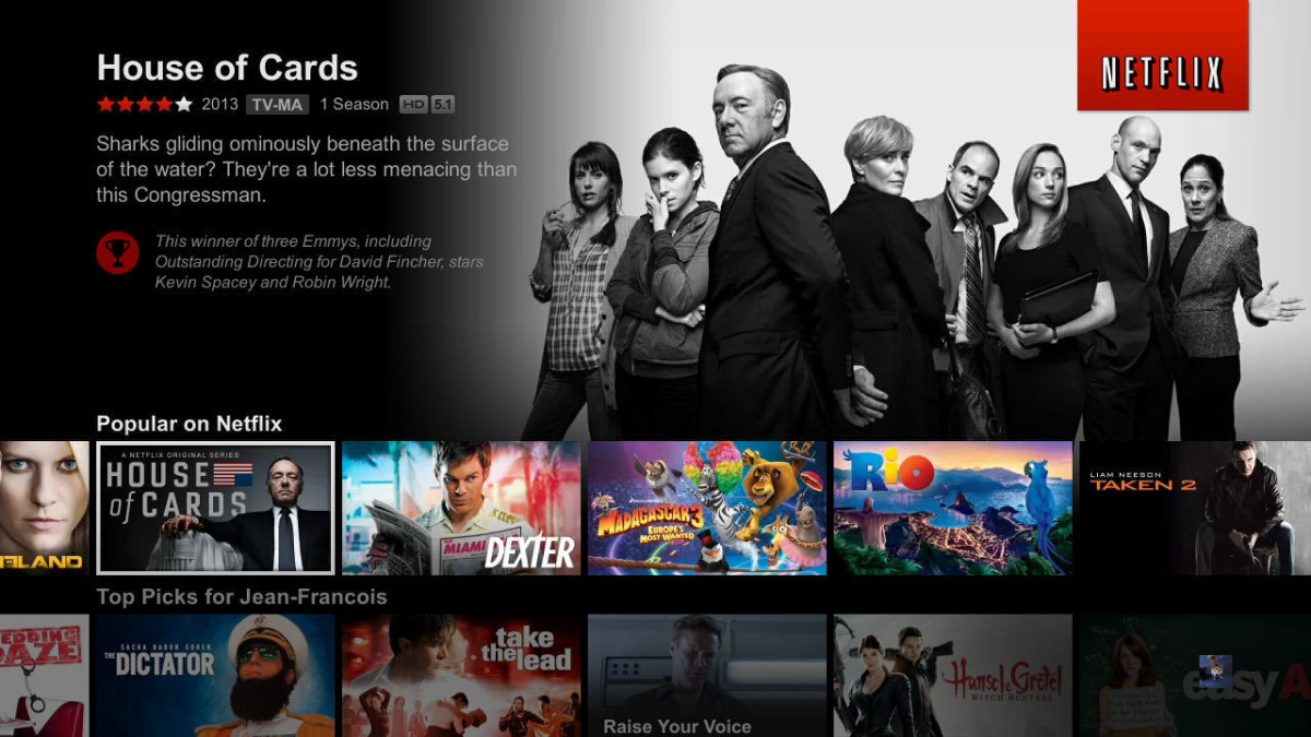 Netflix é o serviço de streaming com maior notoriedade entre
