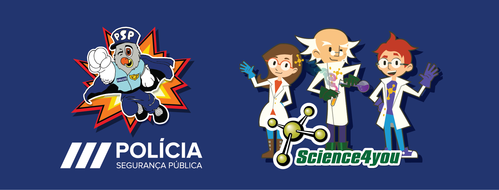Banner PSP + Science4You