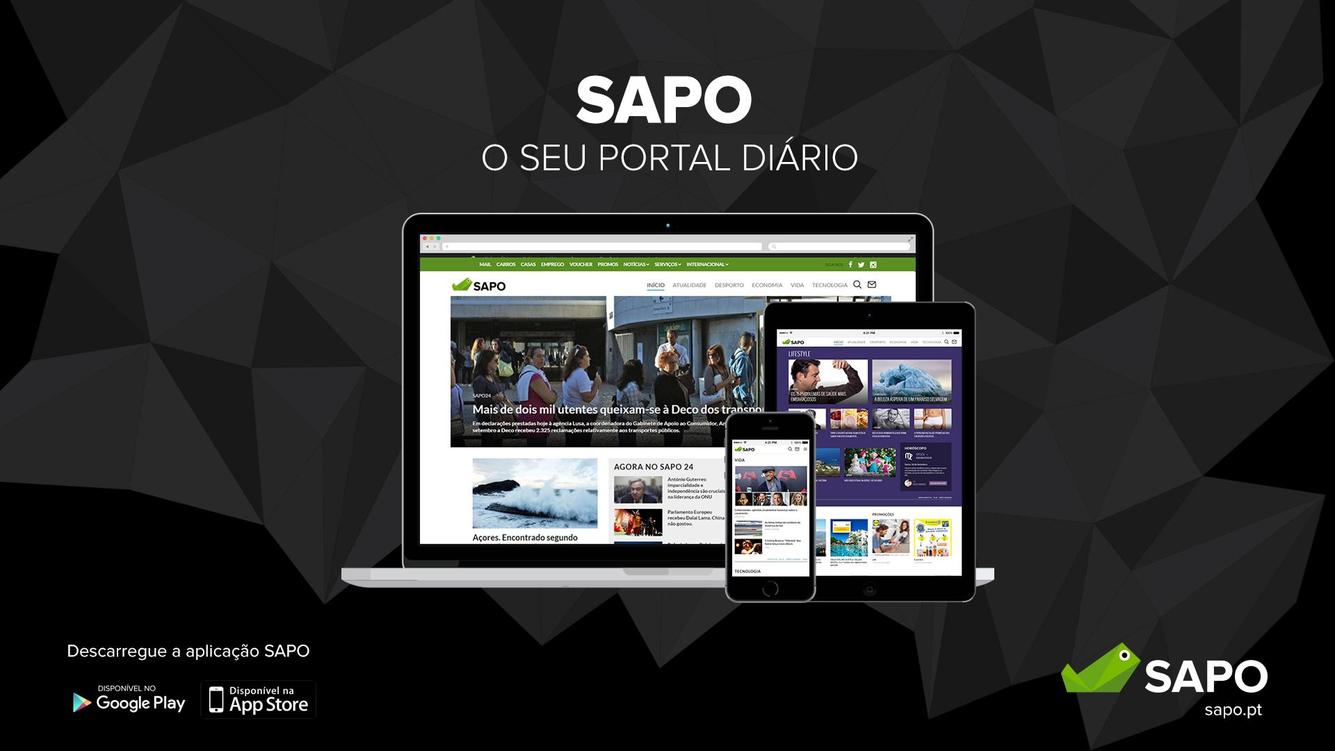 SAPO - o seu portal diário
