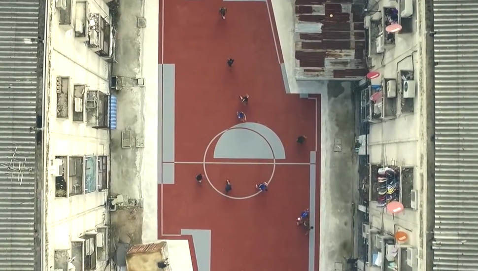 Unusual Football Fields