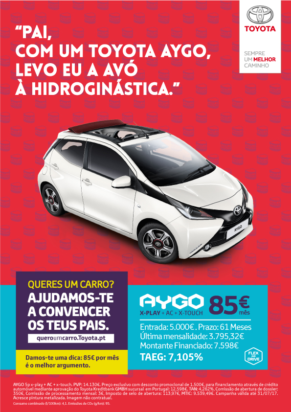 Toyota AYGO xwave
