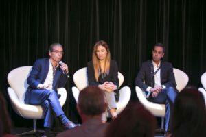Ricardo Tomaz (SIVA), Inês Condeço (Fnac) e Ruben Bicho (EDP)
