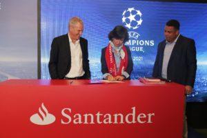 Champions-Santander & UEFA