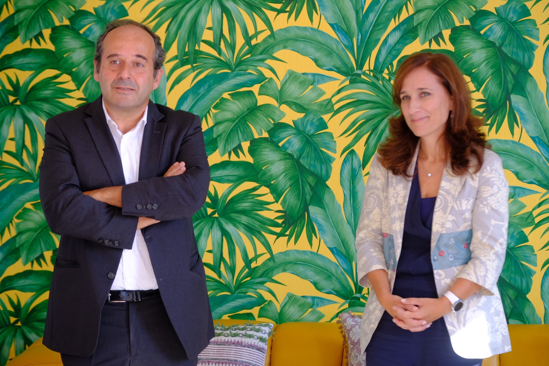 Pedro Bruno e Catarina Aleixo