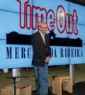 Luis Delgado, no lançamento do Time Out Market, no Mercado da Ribeira
