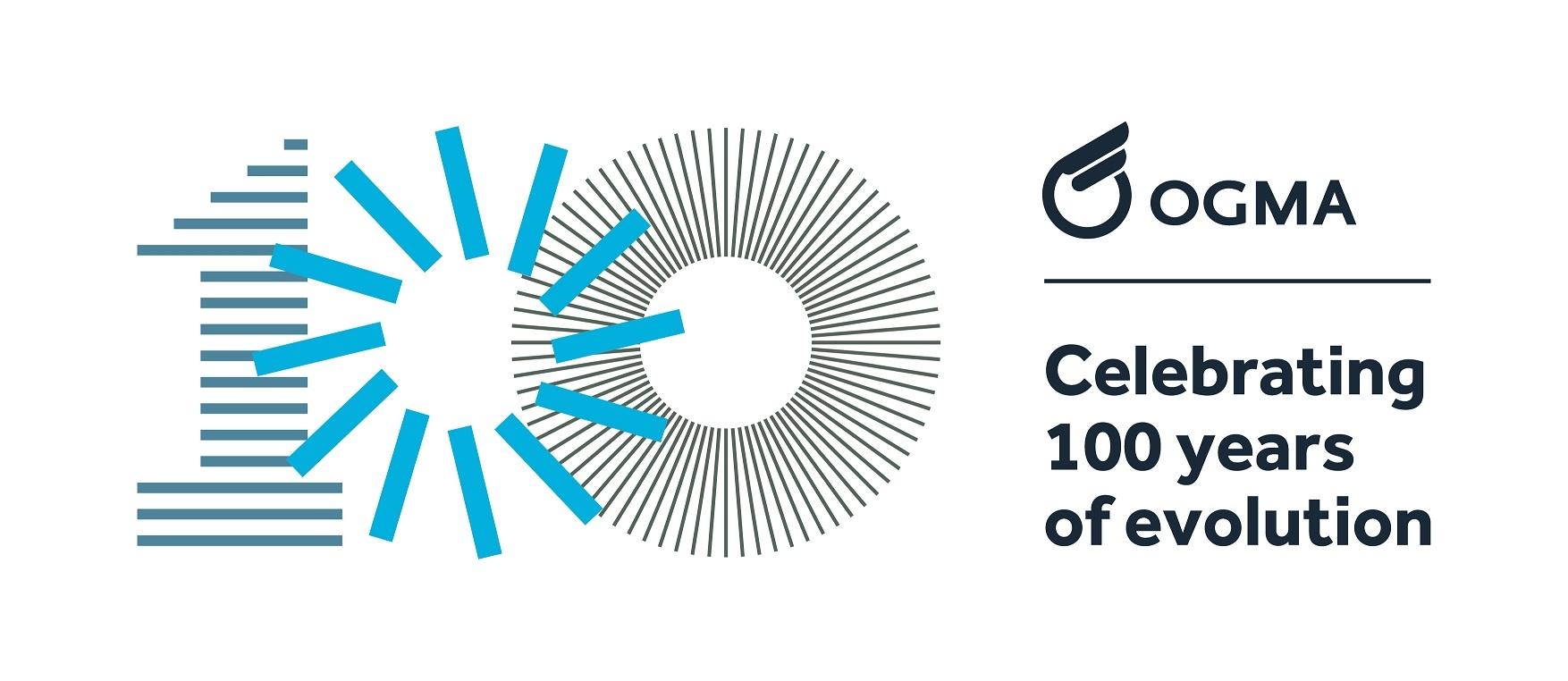 logo Centenário OGMA