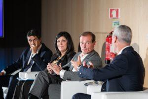 Tiago Vidal (Llorente & Cuenca), Teresa Carvalho (Liberty Seguros), Gabriel Coimbra (IDC) e António Rapoula (APCE)