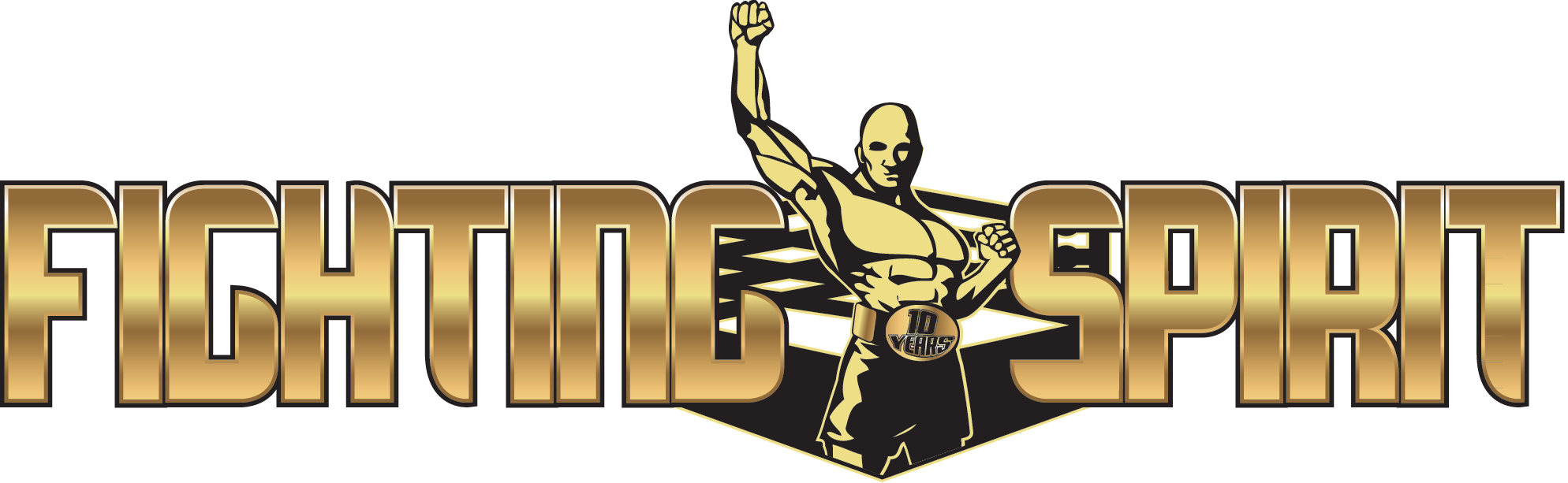 Logo Fighting Spirit 10 ans
