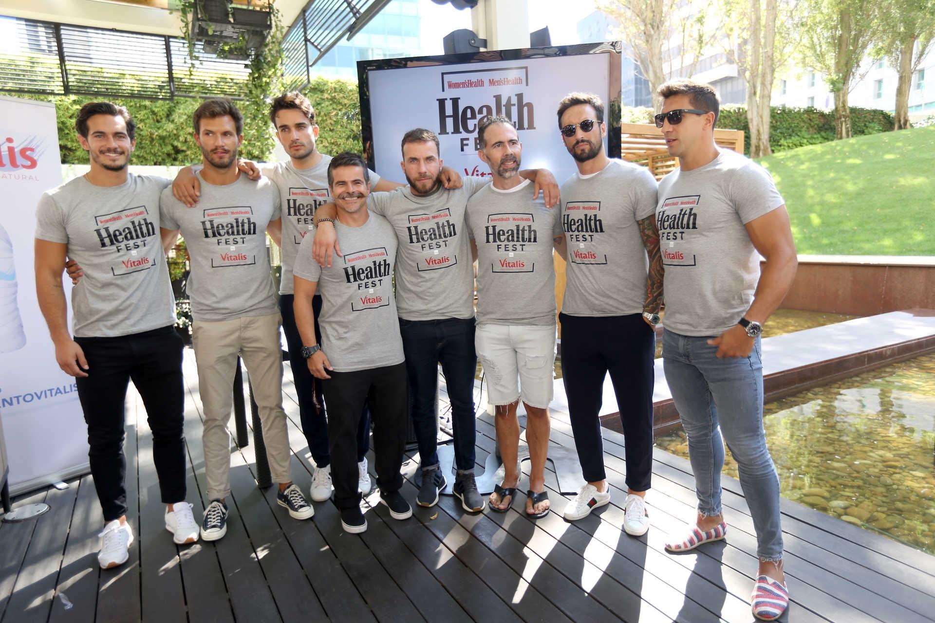 Lisboa, 26/09/2018 - Apresentação à imprensa do Health Fest, evento que irá ser realizado em Outubro pela Men´s Health Equipa masculina de embaixadores do evento (Diana Quintela/ Global Imagens)