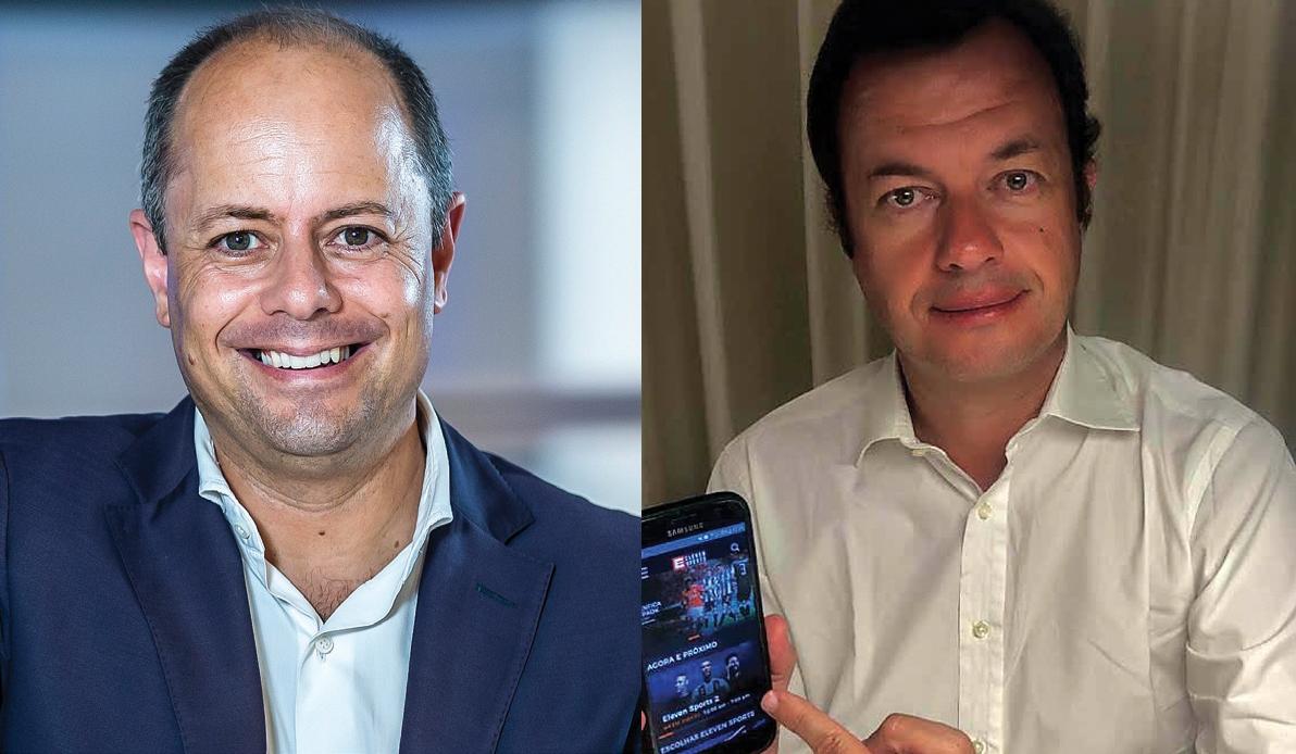Nuno Ferreira Pires (Sport TV) e Jorge Pavão de Sousa  (Eleven Sports)