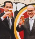 Apresentação parceria Pedro Proença, presidente Liga Portugal e Rui Lopes Ferreira, CEO Super Bock Group