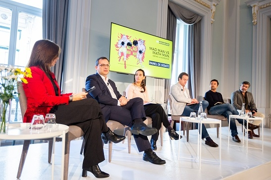 Luís Monteiro (Pestana), Teresa Burnay (Unilever), Tiago Phillimore (TAP), Pedro Pina (Google) e Luís Silva Dias (FCB)