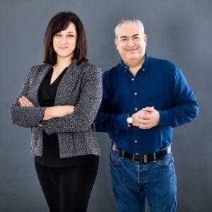 Helena Rodrigues e Joao Espirito Santo