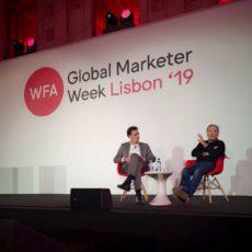 Stephan Loerke (WFA) e Martin Sorrell (S4 Capital)