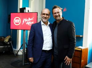 Rui Lopes Ferreira, CEO Super Bock Group - Mathieu Jaton, CEO Montreux Jazz Festival