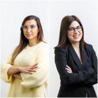 Andreia Amaro e Raquel Godinho