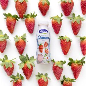 Iogurte Mimosa Cremoso Morango