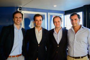 Francisco van Zeller, Tiago Cabral, Salvador Patrício Gouveia e Eduardo Correia de Matos, sócios-fundadores da Netsonda