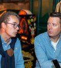 Gilles Bogaert e Collin Kavanagh (Pernod Ricard)