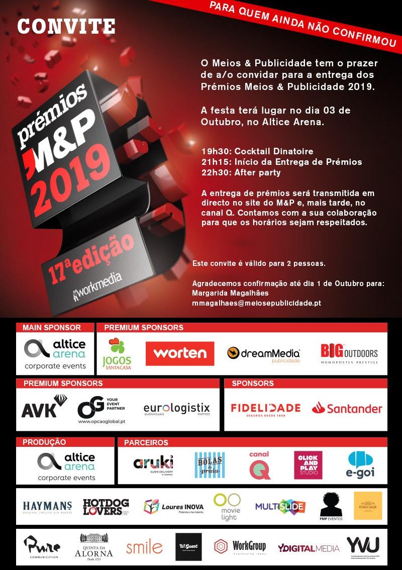 convite ultimo M&P 19