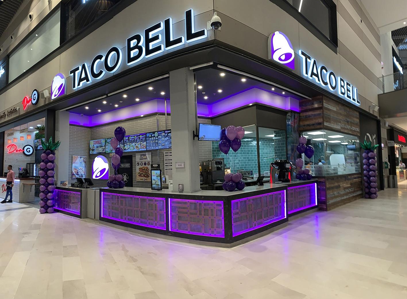 Fachada Taco Bell