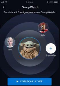 Disney+ GroupWatch