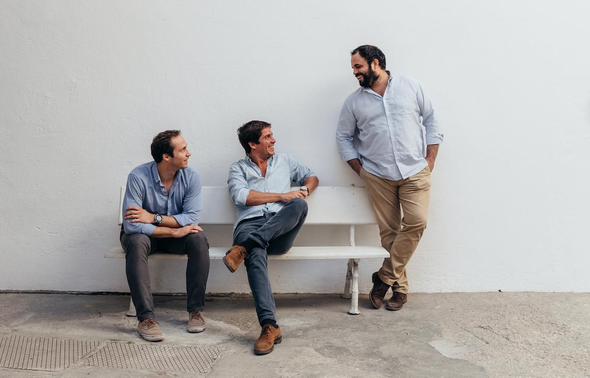Zé Diogo Lucena, Tiago Santos Paiva e Bernardo Villar, sócios da WSA