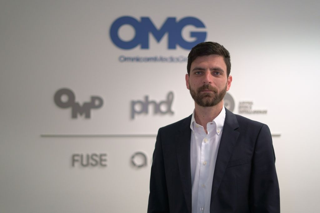 Tiago Branco, chief transformation officer do Omnicom Media Group